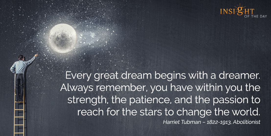 Great Dream Remember Strength Patience Passion Reach Stars Change